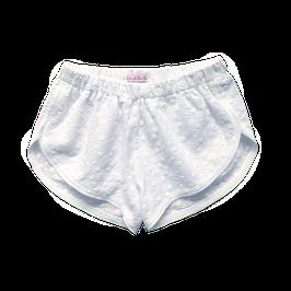 Short coton brodé