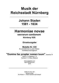 Einzelausgabe Nr. XXI