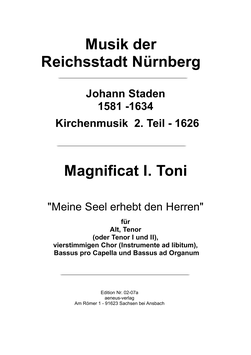 """""""Meine Seele erhebt den Herren"""" (Nr. 24)"""