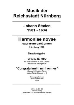 Einzelausgabe Nr. XXV