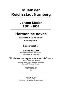 Einzelausgabe Nr. XXIX