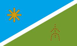 Alacalufe-Kawesqar Tribe Flag