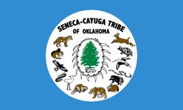 Seneca-Cayuga Tribe of Oklahoma Flag