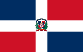 Dominican Rep. Flag / Bandera dominicana