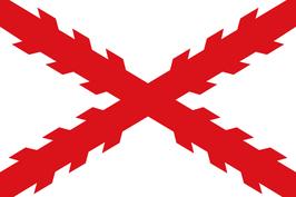 Spanish Empire Flag / Cross of Burgundy