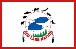 Red Lake Ojibwe Nation Flag