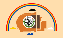 Navajo Tribal Nation Flag