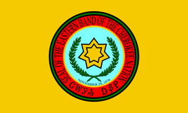 Eastern Band of the Cherokee Nation Flag