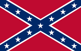 Confederate Battle Flag & Naval Jack