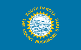 South Dakota (SD) Flag