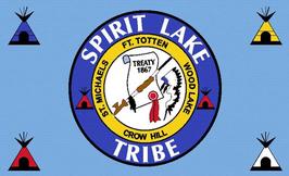 Spirit Lake Tribe Flag
