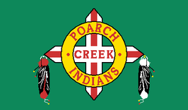 Poarch Band of Creek Indians Flag