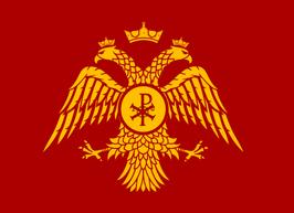 Eastern Roman Byzantine Empire Flag