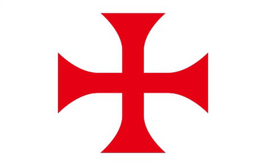 Knights Templar Cross Flag