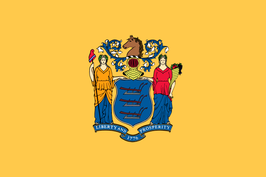 New Jersey (NJ) Flag