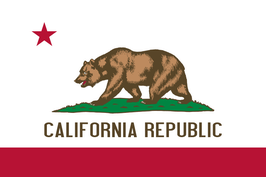 California (CA) Flag
