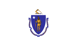 Massachusetts (MA) Flag
