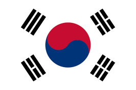 South Korea Flag /  태극기