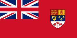 Canadian Red Ensign (1957-1965)
