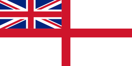 British-UK Naval Ensign Flag