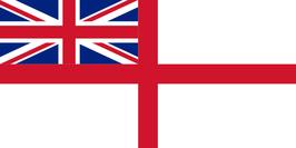 British-UK Naval Ensign Flag
