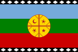Mapuches Nation Flag