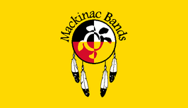 Mackinac Bands of Chippewa and Ottawa Indians Flag