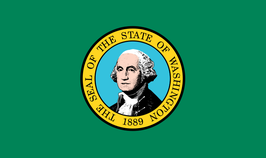 Washington (WA) Flag