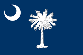 South Carolina (SC) Flag