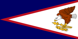 American Samoa (AS) Flag