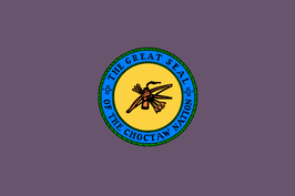 Choctaw Nation Flag