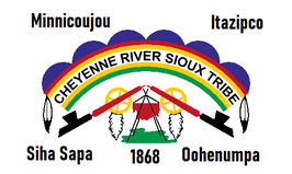Cheyenne River Sioux Tribe Flag