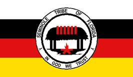 Seminole Tribe of Florida Flag