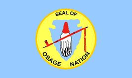 Osage Nation of Oklahoma Flag