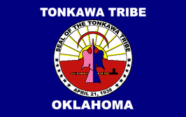 Tonkawa Tribe of Oklahoma Flag