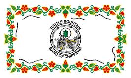 Turtle Mountain Band of Chippewa Indians of North Dakota Flag