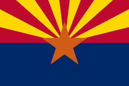 Arizona (AZ) Flag