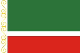 Chechen Republic Flag