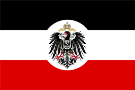 German Empire Colonial Flag