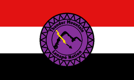 Thunder Mountain Lenape Nation Flag