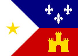 Acadiana/Cajun Flag
