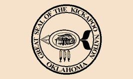 Kickapoo Nation of Oklahoma Flag