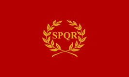 Roman Empire SPQR Flag