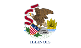 Illinois (IL) Flag