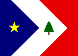New England Acadians Flag
