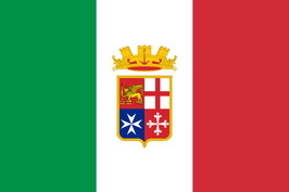 Italian Naval Ensign Flag