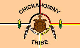 Chickahominy Tribe Flag