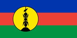 Kanak-New Caledonia Flag
