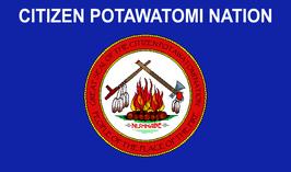 Citizen Potawatomi Nation Flag