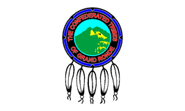 Confederated Tribes of the Grand Ronde Community Flag